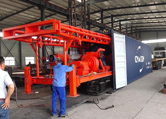 灌注桩钻机柬埔寨施工