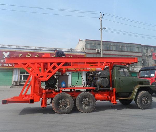 4寸车载式正循环钻机